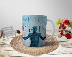 hediyelen - Winter Is Here New Season Kupa Bardak
